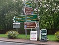 Road signs in Crianlarich - geograph.org.uk - 936083.jpg