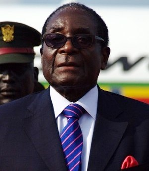 Zimbabwean general election, 2008 - Image: Robert Mugabe cropped