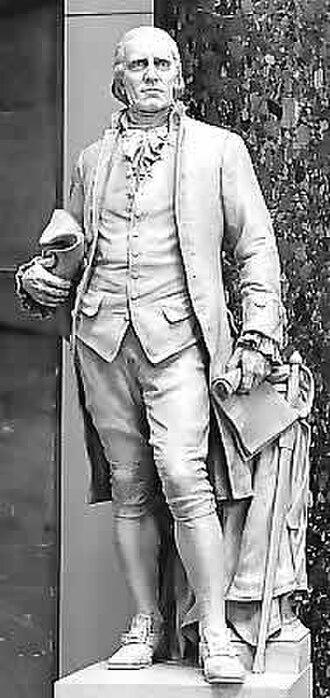 Caesar Rodney - Statue of Caesar Rodney