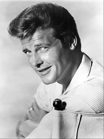 Roger Moore enjoyed his parody on the show. Roger Moore circa 1960.JPG