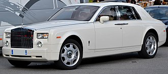 Luxury goods - Rolls-Royce Phantom VII is a luxury vehicle