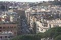 Rom, Blick von der Engelsburg zur Straße Via Giovanni Vitelleschi.JPG