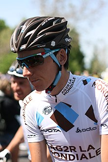 Romain Bardet, Tour of California 2012.jpg