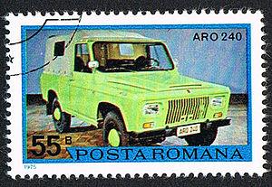 ARO -  ARO 240 (1975 stamp)