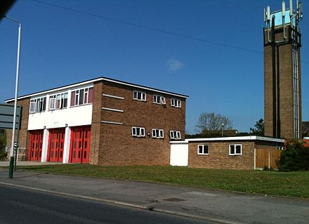 A London Fire Brigade station at Romford Romford fire station.JPG