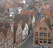 Roofs of Bruges 01