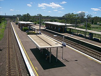 Rooty Hill railway station - Eastbound view in November 2011