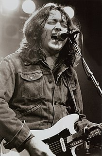 Rory Gallagher Blues rock musician from Ireland