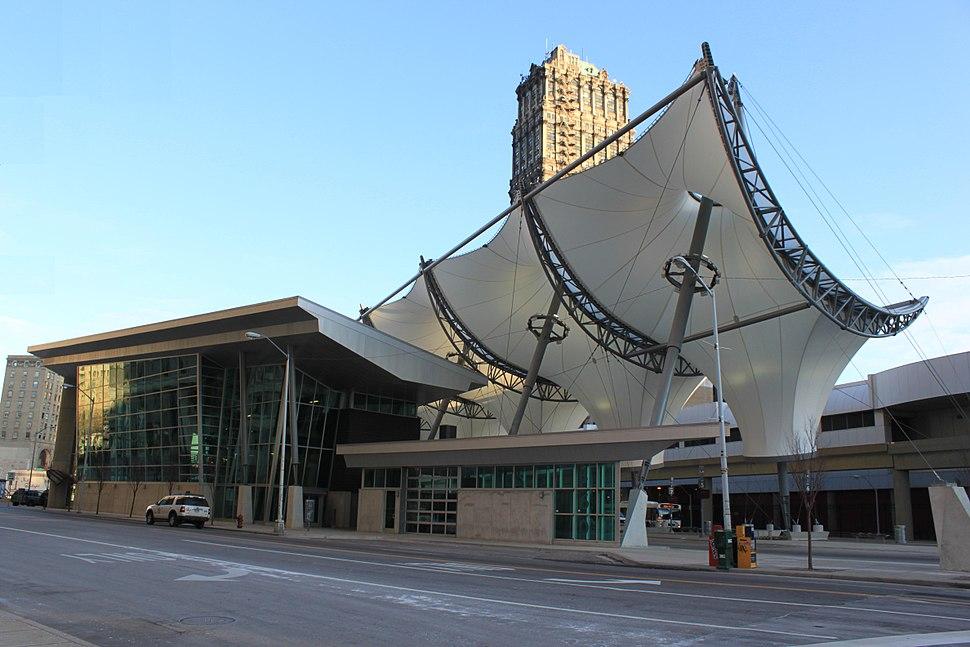 Rosa Parks Transit Center Detroit Michigan