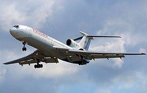 T-tail - Rossiya Russian Airlines Tupolev Tu-154M.