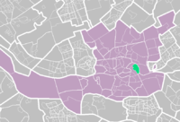 Location of Feijenoord district