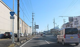 Japan National Route 149