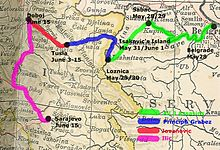 Atentau De Sarayevu Wikipedia