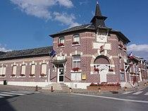Rouvroy (Aisne) mairie.JPG