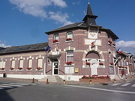 The town hall of Rouvroy