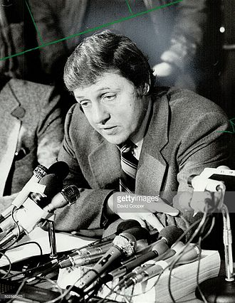 Roy McMurtry - Roy as Attorney General