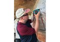 Roy Goodacre taking Raman measurements from pigments in Aboriginal Rock, Australia.pdf