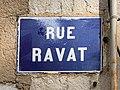 Rue Ravat (Lyon) en octobre 2020 - panneau.jpg