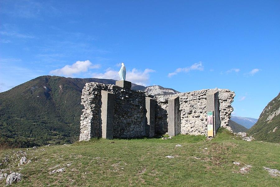 Ruins of the Château de Léaz