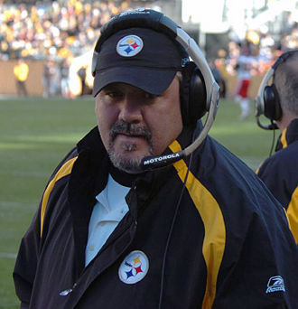 Russ Grimm - Grimm with the Steelers in 2006