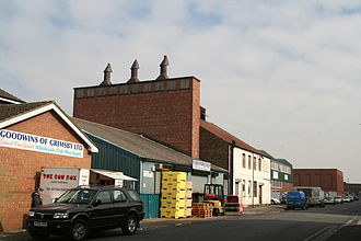 Traditional Grimsby smoked fish - Grade II listed Russell fish smoke house, Grimsby