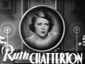 Female (1933 film) - Ruth Chatterton in the trailer for Female