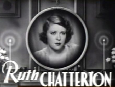 Chatterton in the trailer for Female (1933) Ruth Chatterton in Female trailer.jpg