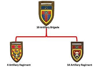 10 Artillery Brigade - SADF 10 Artillery Brigade structure in Potchefstroom