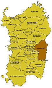Ogliastra Cartina Geografica.Ogliastra Wikipedia