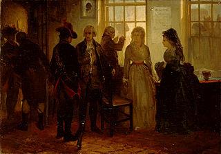 Anno 1787. De aanhouding van de prinses van Oranje bij Goejanverwellesluis