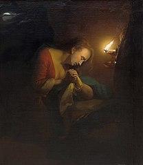 Penitent Magdelene by Candlelight