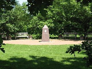Map Of Mccrory Gardens And South Dakota Arboretum The