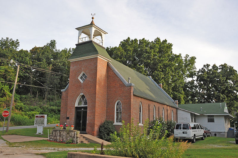 File:SECOND BAPTIST CHURCH, NEOSHO, NEWTON COUNTY, MO.jpg