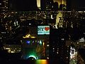 "SFT's (Students for a Free Tibet) Projection ""New York Hearts - Loves Human Rights"" from the Empire State Building 自由西藏-圖博學生運動從帝國大廈投射「紐約愛人權」.jpg"