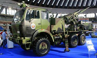 Yugoimport SDPR - SORA self-propelled 122mm gun-howitzer