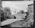 SOUTH FACE OF BRIDGE - West Marshall Street Bridge, Marshall Street over Stony Creek, Norristown, Montgomery County, PA HAER PA,46-NOR,1-3.tif