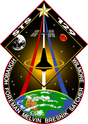 Barry E. Wilmore - Image: STS 129 patch