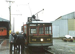 Birney - Sacramento Northern Birney car 62 at the Western Railway Museum, Rio Vista, California