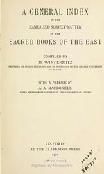 English: The Sacred Books of the East