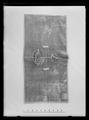 Sadeltäcke, Portugal ca 1650. Blå sammet - Livrustkammaren - 17748.tif