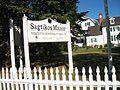 Sagtikos Manor; Suffolk County Parks Sign (Right).JPG
