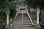 Saguriten-Shrine in Iwayama, Ujitawara, Kyoto July 6, 2018 05.jpg