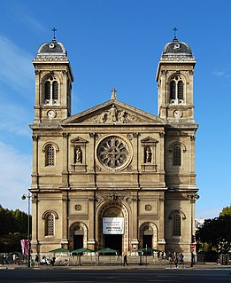 Church in Île-de-France, France