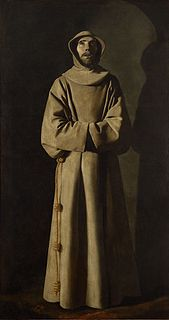<i>St Francis</i> (Francisco de Zurbarán) painting by Francisco de Zurbarán