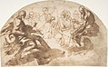 Saint John the Baptist, Saint Benedict, King David, and Other Seated Figures MET DP809284.jpg