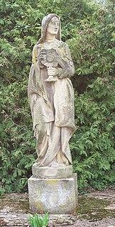 Odile of Alsace abbess and Roman Catholic saint