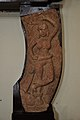 Salabhanjika on Crocodile - Circa 1st Century CE - Bhuteshwar - ACCN 2007-03 - Government Museum - Mathura 2013-02-23 5600.JPG