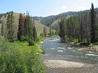 Salmon River (Idaho) - Salmon River in Sawtooth NRA