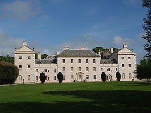 Saltram House - Saltram House, west front