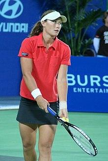 Samantha Stosur durante la Hopman Cup 2006 a Perth